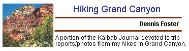 Hiking Grand Canyon - Trip Journals