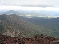 Mt Humphreys in Flagstaff Arizona